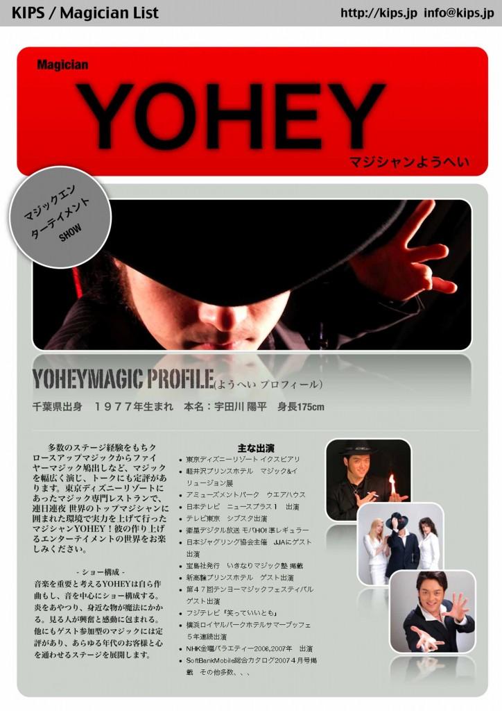 YOHEY Profile 121011